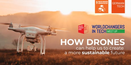 How drones can help us to create a more sustainable future Tickets