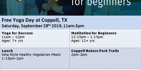 Free Yoga Day, and Meditation tickets