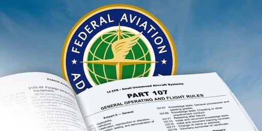 Part 107 Remote Pilot Certificate Test Prep - UAS UAV Drone Public Safety