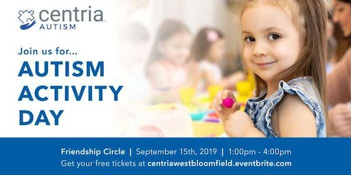 Autism Activity Day - West Bloomfield, MI - Presented by Centria Autism