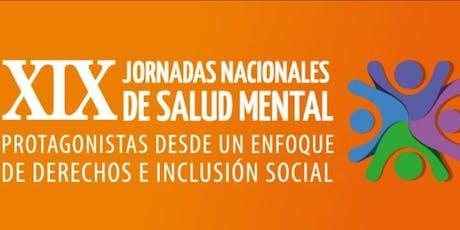 XIX JORNADAS NACIONALES DE SALUD MENTAL MENDOZA entradas