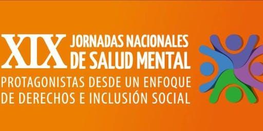 XIX JORNADAS NACIONALES DE SALUD MENTAL MENDOZA