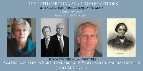 2020 South Carolina Academy of Authors Induction Weekend tickets