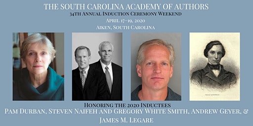 2020 South Carolina Academy of Authors Induction Weekend