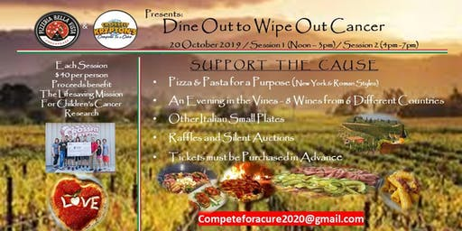 Dine Out to Wipe Out Cancer (Session #2)