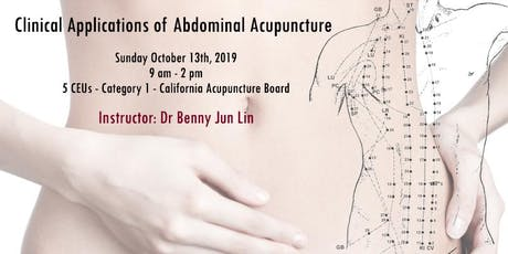 Clinical Applications of Abdominal Acupuncture  tickets