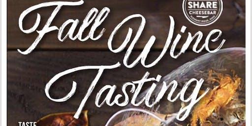 Fall Wine & Cheese Pairing - seating 1