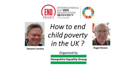 How to end child poverty in the UK ? tickets