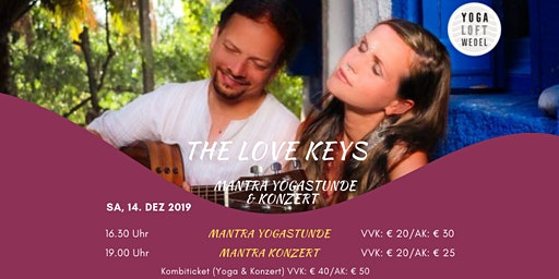 The Love Keys im Yoga Loft Wedel