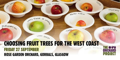 Choosing Fruit Trees for the West Coast (Glasgow) tickets
