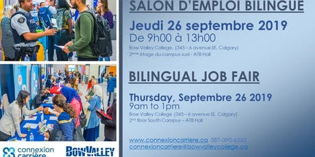 Bilingual Job Fair | Salon de l'emploi bilingue | Sept.2019 tickets