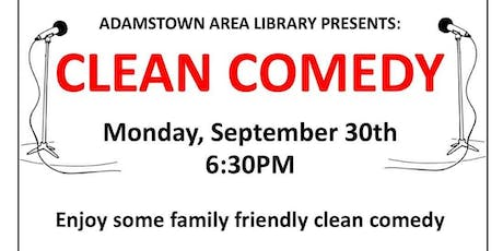 Clean Comedy Team tickets