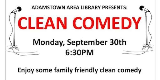 Clean Comedy Team