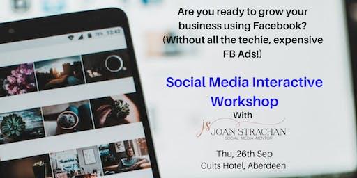 Social Media Interactive Workshop