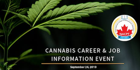 Cannabis Career & Job Information Event tickets