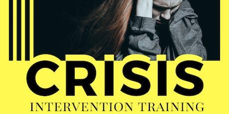 Crisis Intervention Training tickets