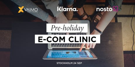 Pre-Holiday E-commerce Clinic  biljetter