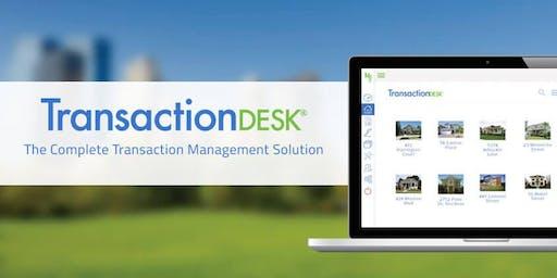 Transaction Desk presented by RAPB + GFLR trainer Ivan Hernandez