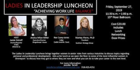 Ladies in Leadership  tickets