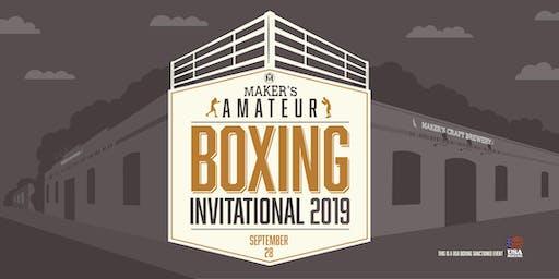 Maker's Amateur Boxing Invitational 2019
