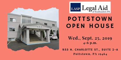 OPEN HOUSE at LASP's relocated Pottstown office tickets