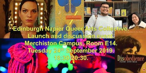 Edinburgh Napier Queer Arts Collective (ENQAC) launch event.