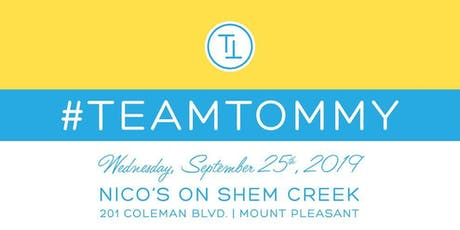 TEAM TOMMY: Fundraising Cocktail Event tickets