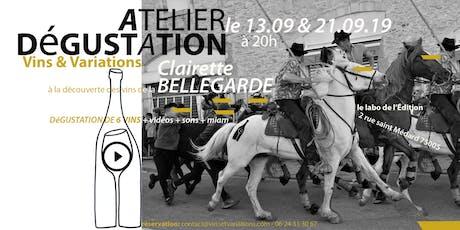 À la découverte des vins de la Clairette de Bellegarde billets