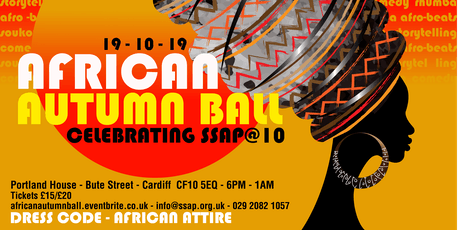 African Autumn Ball - #SSAP@10 tickets