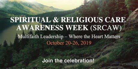 Niagara Forum - 2019 Spiritual & Religious Care Awareness Week tickets