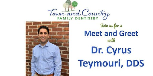 Meet and Greet with Dr. Teymouri