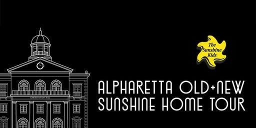 Alpharetta Old + New Sunshine Home Tour