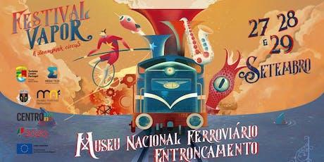 Festival Vapor: A Steampunk Circus - Segunda Edição bilhetes