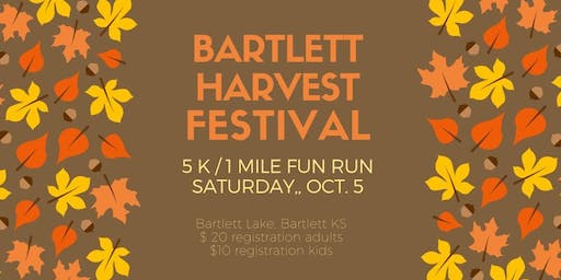 Bartlett Harvest Festival 5K / 1 Mile Fun Run