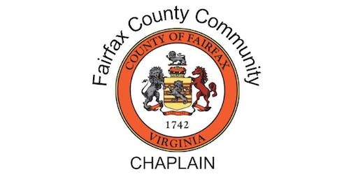 Fairfax County Community Chaplain Orientation Session- Oct 22