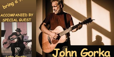 Coffee House Concert: John Gorka accompanied by special guest Clovice Lewis tickets