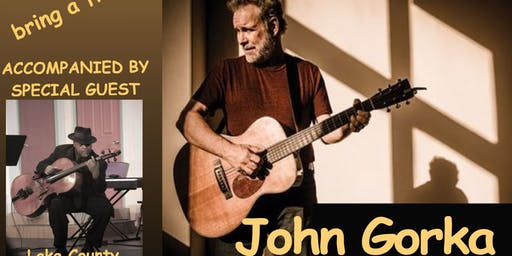 Coffee House Concert: John Gorka accompanied by special guest Clovice Lewis