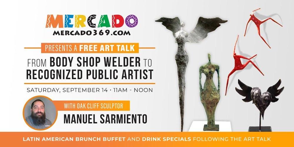 Free Art Talk with Oak Cliff Sculptor Manuel Sarmiento