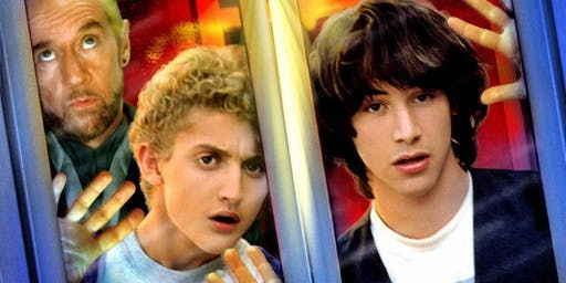 Pendle Social Cinema presents: Bill & Ted's Excellent Adventure