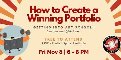 How to Create a Winning Art School Portfolio tickets