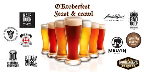 Oktoberfest Feast and Crawl entradas