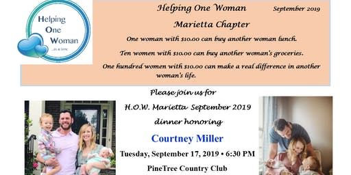 Helping One Woman Marietta