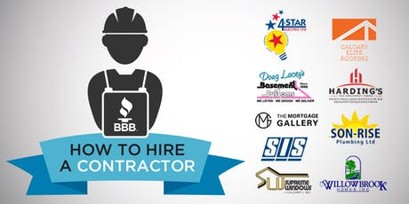 How to Hire a Contractor tickets