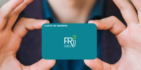 Carte de membre Septembre 2019 billets