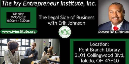 The Legal Side of Business with Erik Johnson