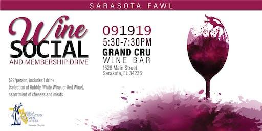 SRQ-FAWL Wine Social & Membership Drive