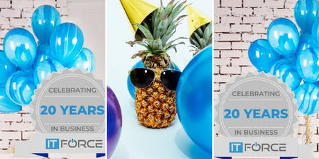 IT Force Celebrates 20 Years in Business tickets