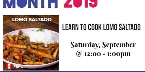 Free Cooking Class: Lomo Saltado