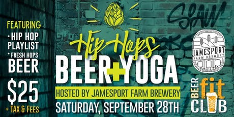 Hip Hops Beer + Yoga tickets
