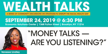 Wealth Talks: Vanessa Lindley tickets